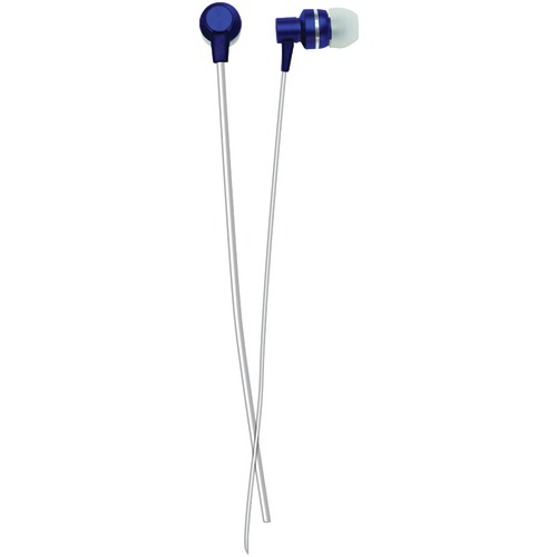 Naxa Metallix Isolation Stereo Earbuds (blue)